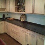 White Oak Base and Wall Cabinets Pickled Oak Finish Peachtree City, Ga August 2013